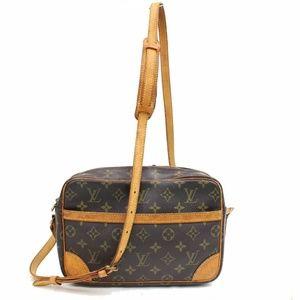 100% Auth Louis Vuitton Trocadero 27 Sling Bag